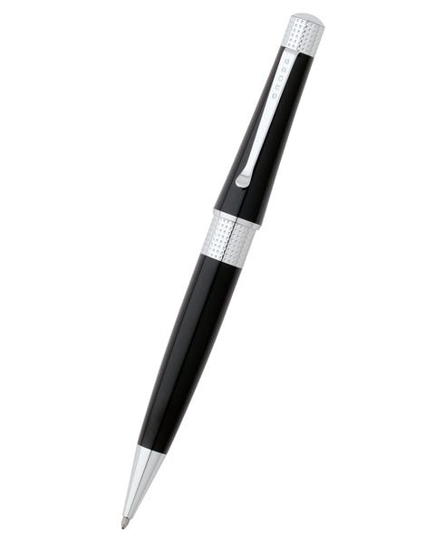 Beverly Black Lacquer Ballpoint Pen