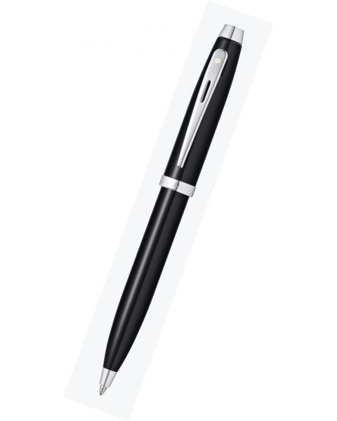 Sheaffer 100 Glossy Black Lacquer Ballpoint Pen