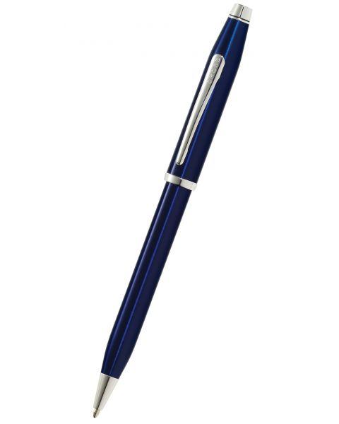 Century II Translucent Blue Lacquer Ballpoint Pen