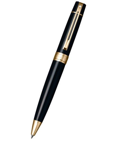 Sheaffer® 300 Glossy Black with Gold Tone Ballpoint Pen